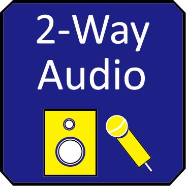 2 way audio